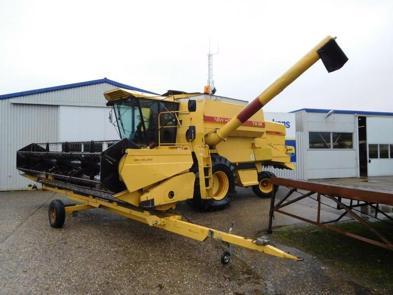 New Holland TX 36 combine