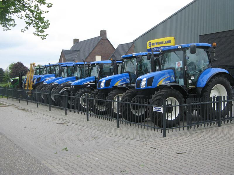 New Holland T6010 PLUS/TSA100 PLUS/CREEP SPEED