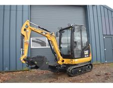 Caterpillar cat 301.7D minigraver NIEUW €399.- LEASE