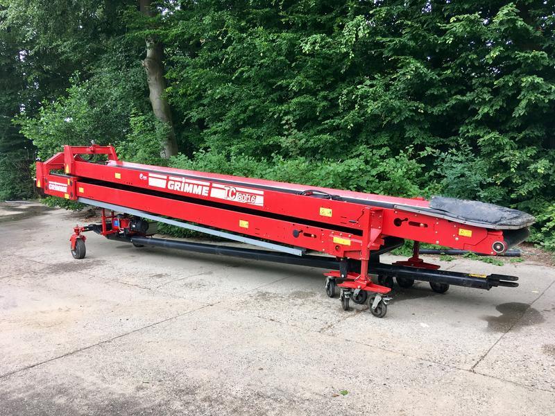 Grimme TC 80-16 duoband