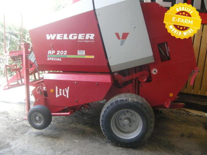 Welger RP202 SPECIAL