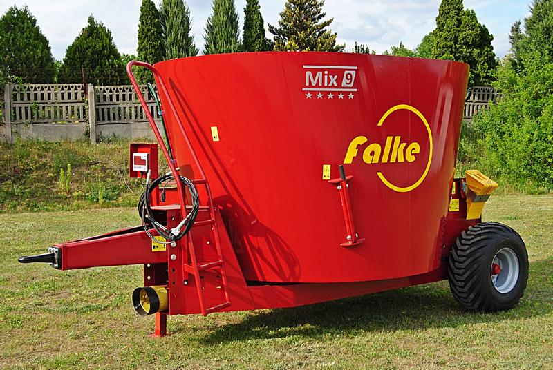 FALKE Fodder Mixing Wagon for LOW BARNS Mix 9