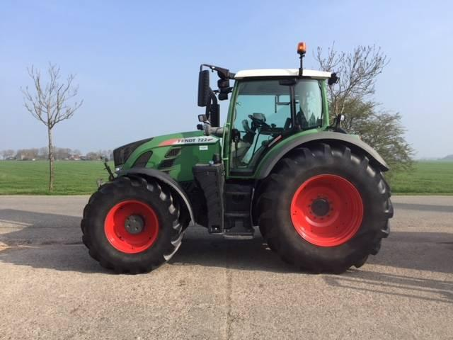Fendt 722 S4 Profi Plus