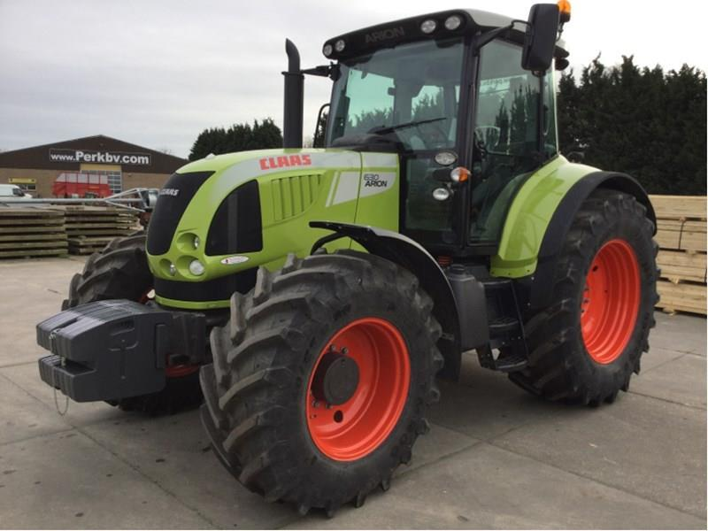 Claas 630 CIS demo