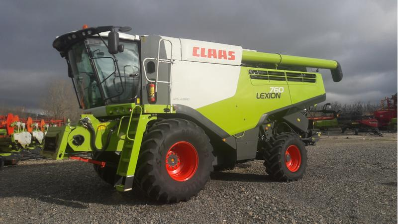 Claas LEXION 760 DEMO