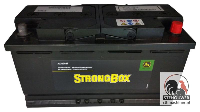 John Deere WET CHARGED BATTERY #2274