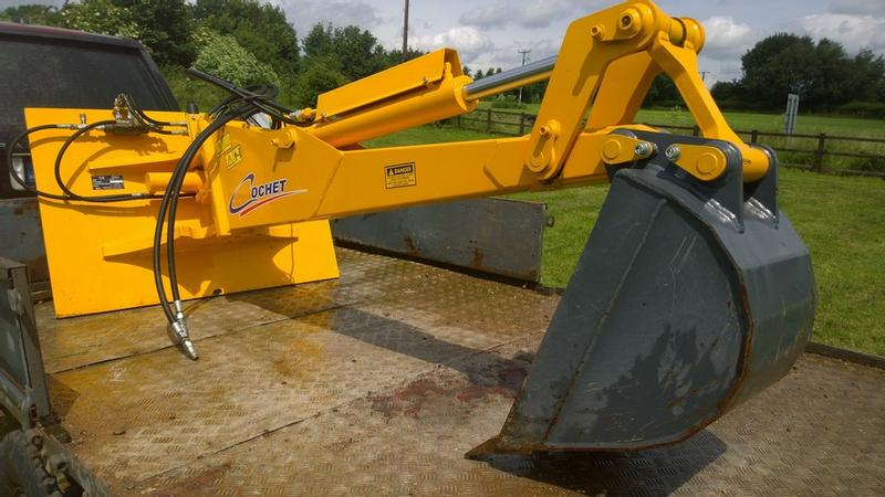 COCHET POWER ARM DIGGER FITS JCB HANDLER