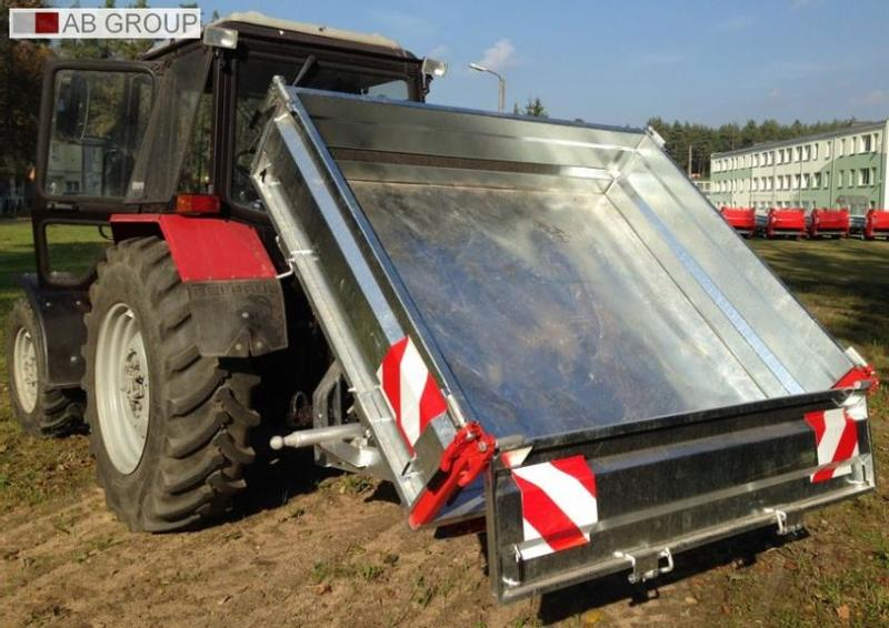 CynkoMet Loading box/Caisse de chargement/Heckcontainer 1,5 T