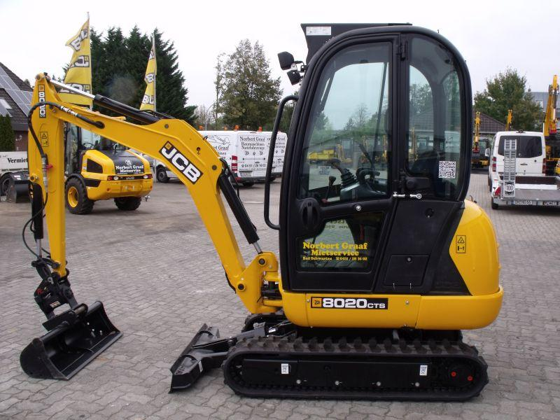 JCB 8020 CTS hydr. Powertilt SWE MS-01