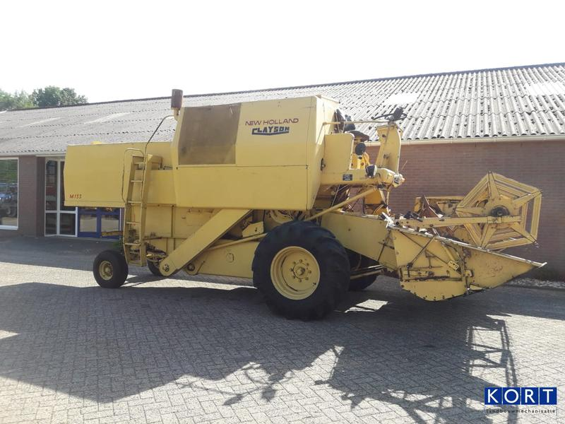 New Holland Clayson M133