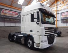 Daf XF105 460 SUPERSPACE EURO 5, 6 X 2 TRACTOR UNIT - 2013 - EY13 UZP