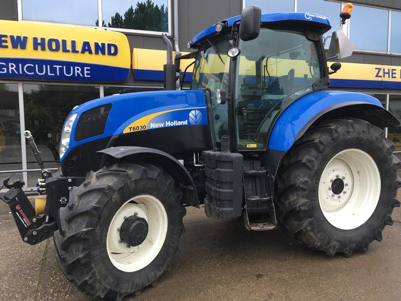 New Holland T6030 Power Command SW-II