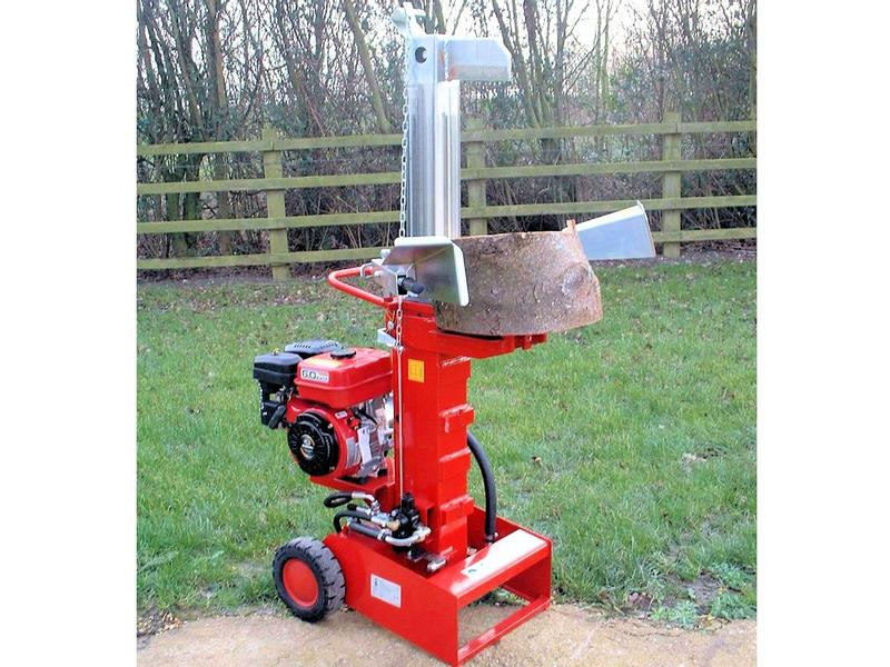 Browns Petrol Log Splitter