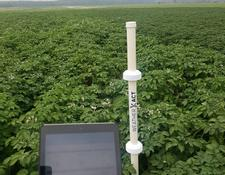 AgXtend, New Holland, Trimble WeatherXactPlus gewas-& bodemsensor, Weerstation