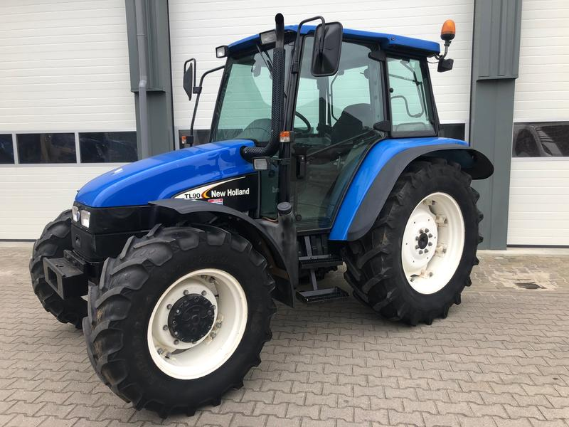 New Holland TL90 4X4 EDC KRUIP