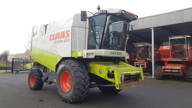 Claas 420 Evolution